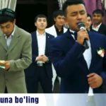 Узбекская Уйгурская песня (Онажон) 2019