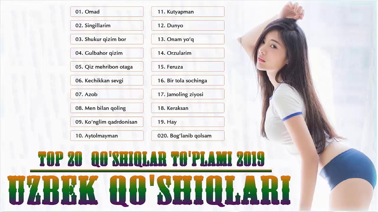 Uzbek Qo'shiqlari 2019  | Top 20 qo'shiqlar to'plami | узбекская музыка 2019  | 20 лучших песен