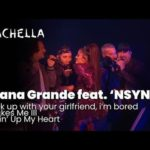 Ariana Grande feat.'NSYNC – break up with your girlfriend, i'm bored/It Makes Me Ill/Tearing Up My