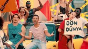 Mustafa Sandal, Dön Dünya, The Best Turkish Music Song Clip, Лучшие Турецкие песни, клипы