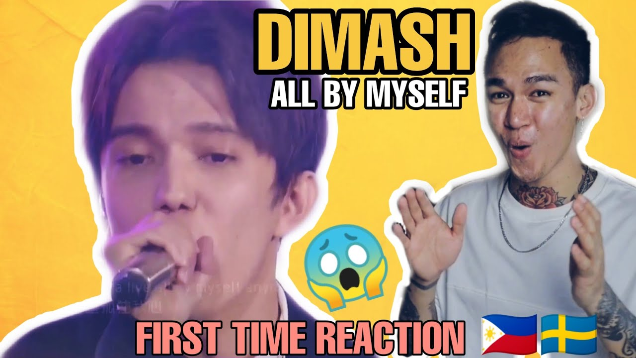 Dimash Kudaibergen - All By Myself | First Time REACTION