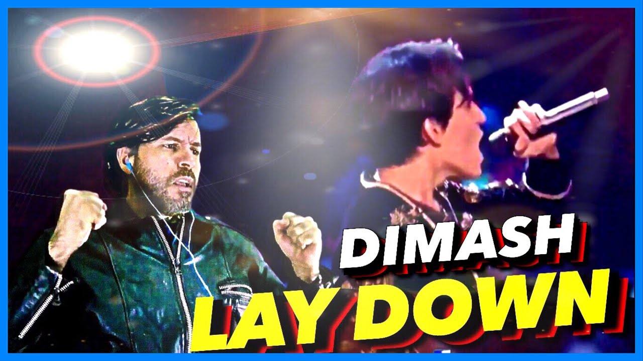 REACTION | DIMASH - Lay Down | D-Dynasty, Moscow Concert