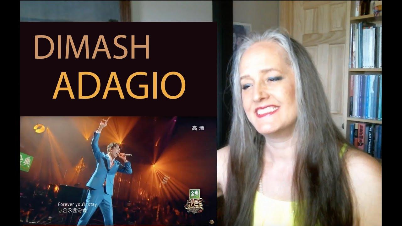 Voice Teacher Reaction to Dimash Kudaibergen - Adagio - The Singer 2017
