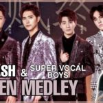Dimash Димаш, Super Vocal Boys - QUEEN Medley REACTION | Singer 2019 | OUTSTANDING PERFORMANCE!!