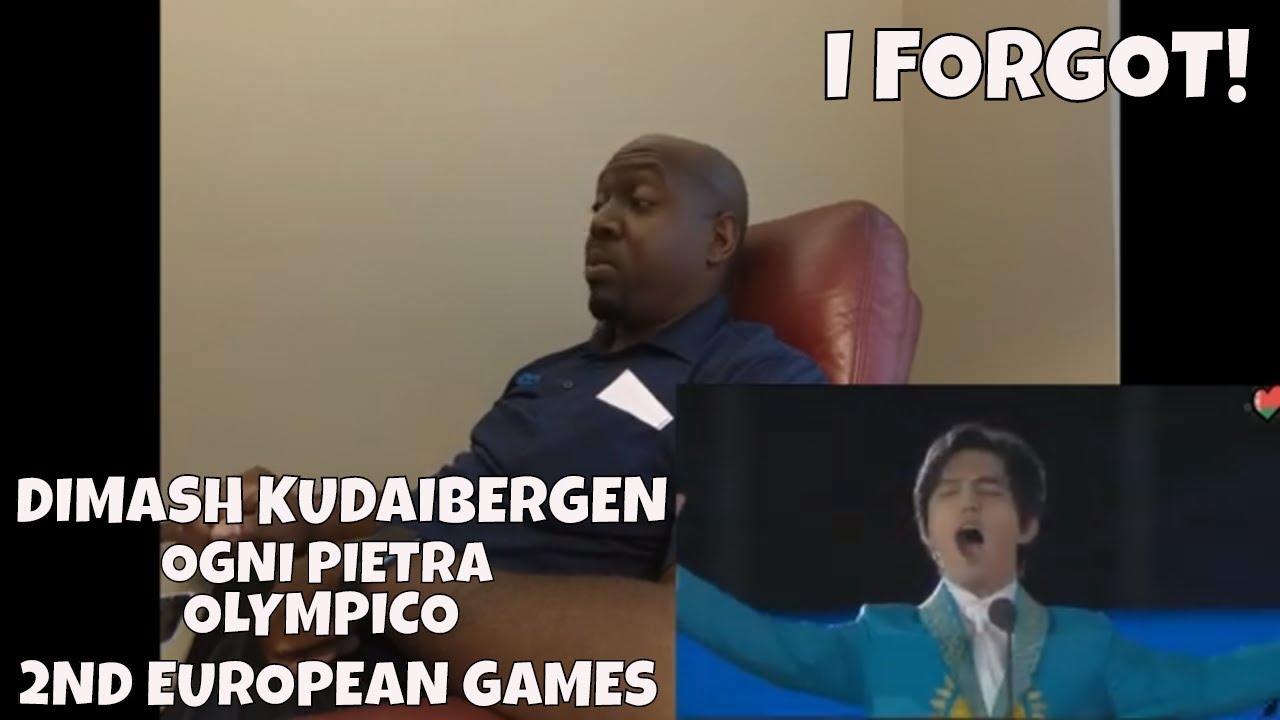 Dimash Kudaibergen - Ogni Pietra (Olympico) 2nd European Games in Minsk