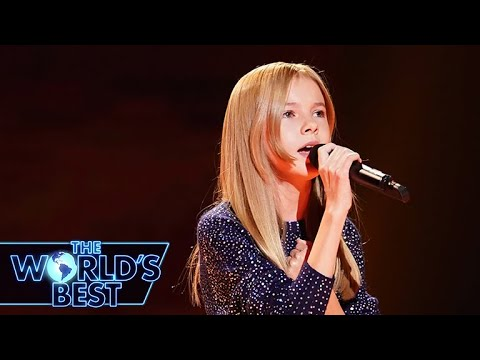 12-Year-Old Daneliya Dazzles with 'Rise Up' - The World's Best Audition