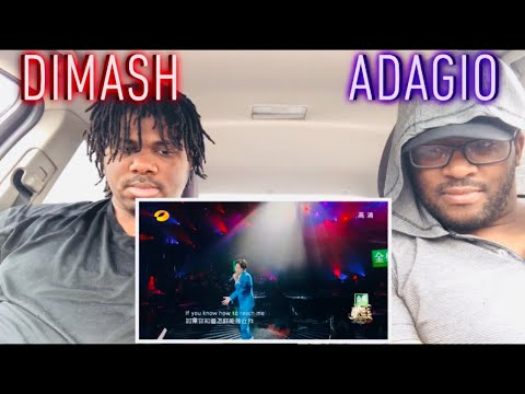 Dimash- Adagio Reaction!!!!(This Is Our Redemption)