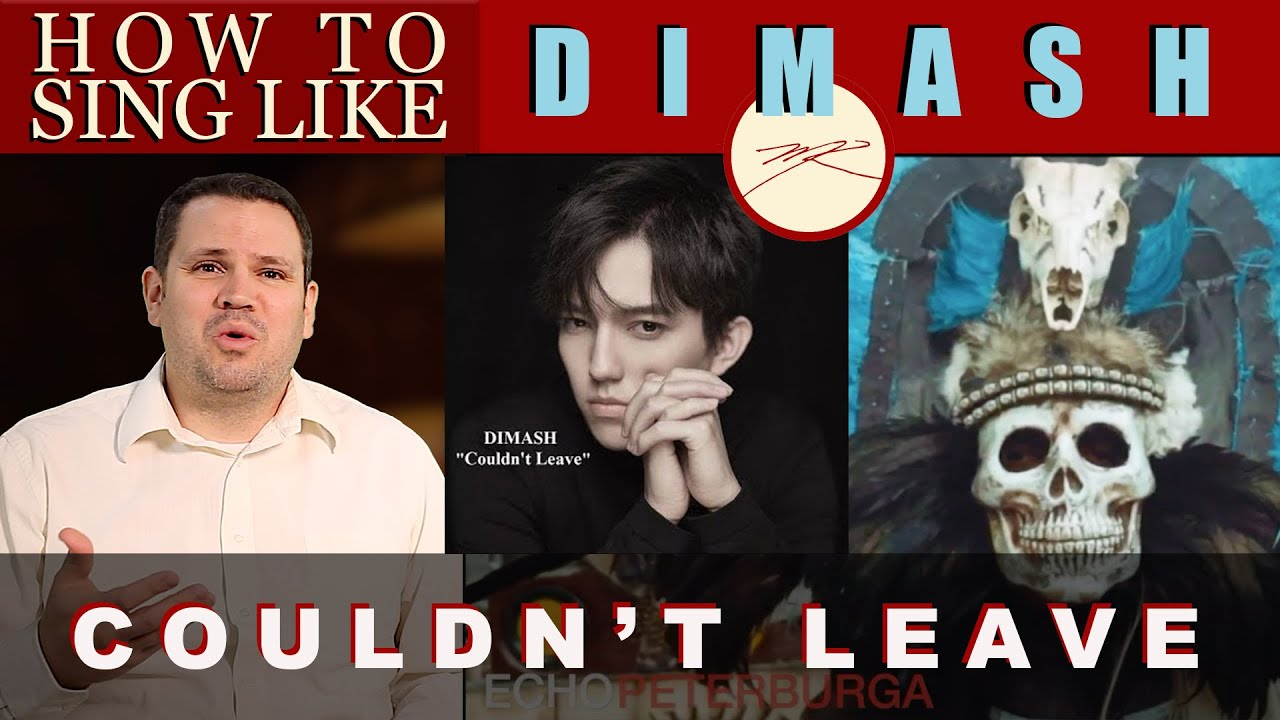 How To Sing Like Dimash - Couldn't Leave You  - Mexico - Vocal Coach Reacts - Dr. Marc
