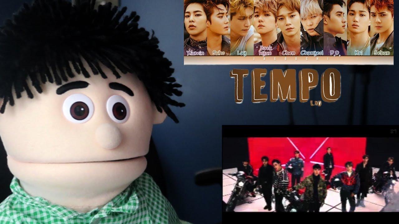 K-Pop Reaction - EXO 엑소 'Tempo' MV