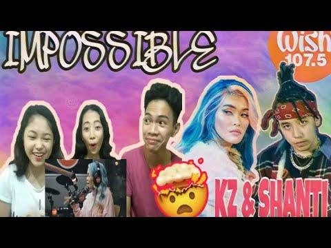 KZ Tandingan and Shanti Dope - Imposible |Reaction Video|