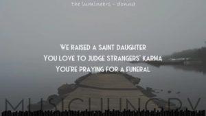 The Lumineers - Donna Lyrics