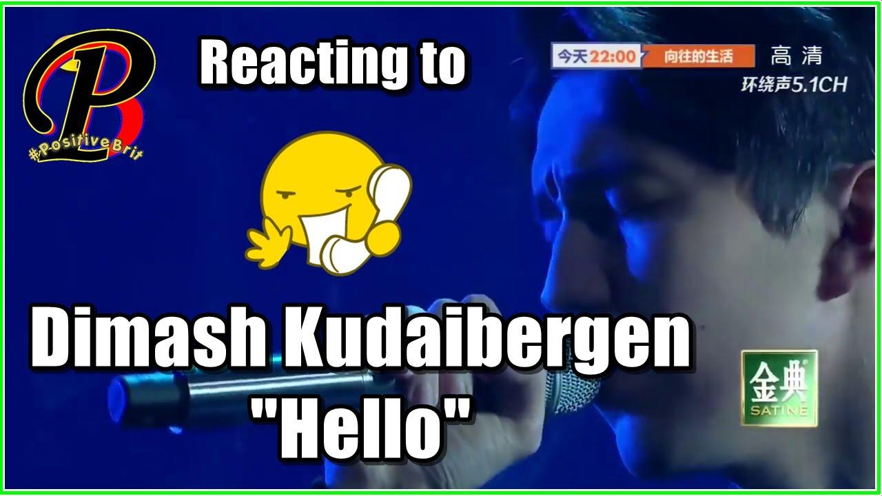 DIMASH KUDAIBERGEN - Hello | Reaction from a British Guy