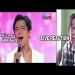 Dimash at the Closing Ceremony   The Holiday is Over NEW WAVE 2019 Live Reaction