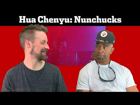 "Hua Chenyu REACTION Nunchuks ""Surprising!"" from SINGER 2018"