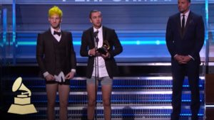 Twenty One Pilots Wins Best Pop Duo / Group Performance | Acceptance Speech | 59th GRAMMYs