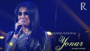 Munisa Rizayeva - Yonar (concert version)