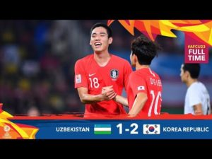 #AFCU23 U23 Uzbekistan vs U23 South Korea 1-2 | Highlights & All Goals | AFC U23 Championship 2020