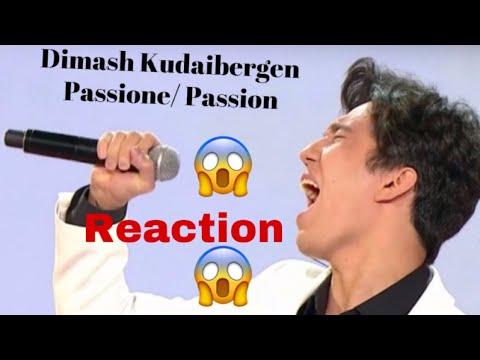 Dimash Kudaibergen- Passione (Reaction)