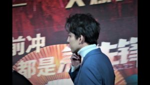 Dimash Kudaibergen backstage scenes  part-3/Dimash leaves