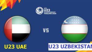 LIVE bình luận trước trận đấu giữa U23 UAE vs U23 UZBEKISTAN trận tứ kết thứ 4 giải U23 Châu Á.