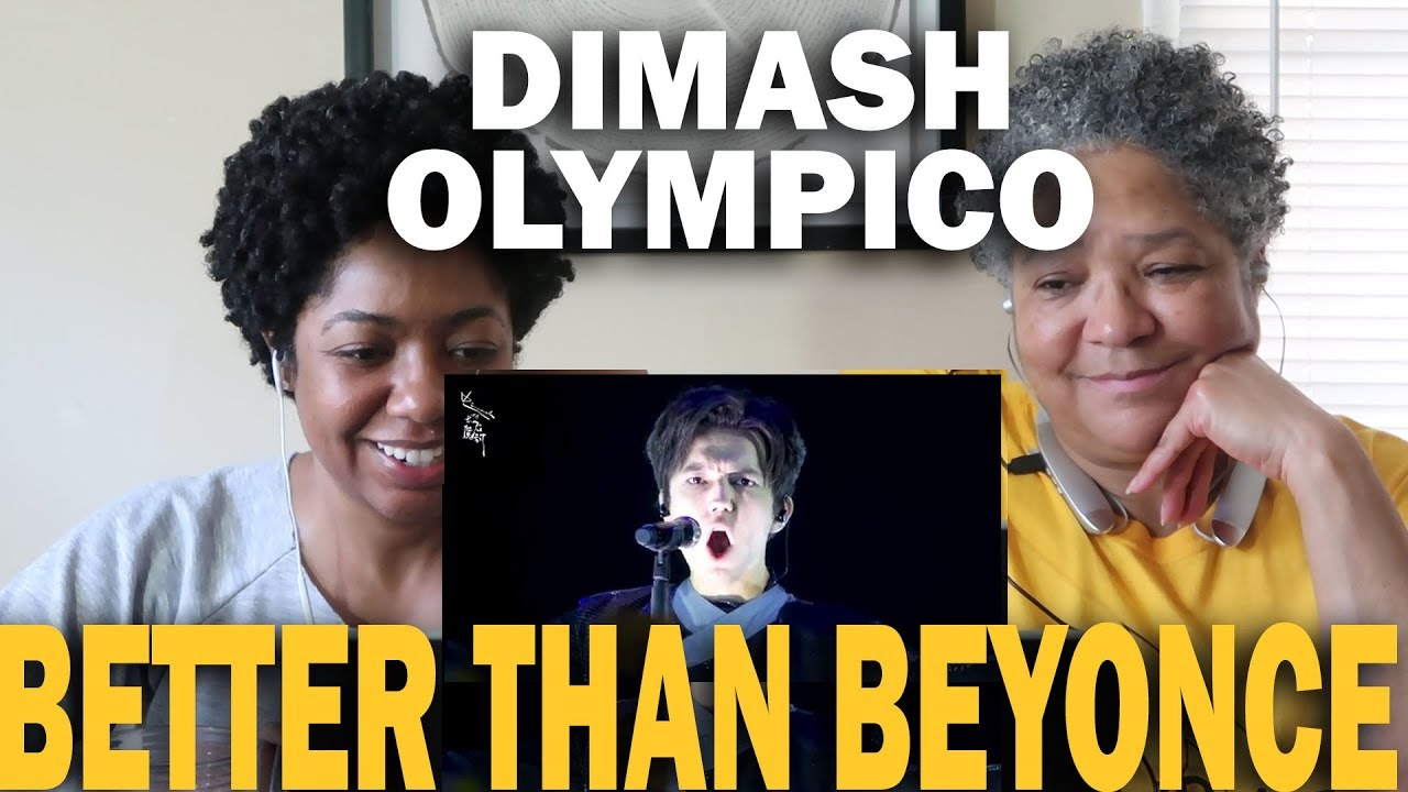Mother and Daughter React To Dimash Kudaibergen- Olympico