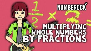 Multiplying Fractions with Whole Numbers Song by NUMBEROCK