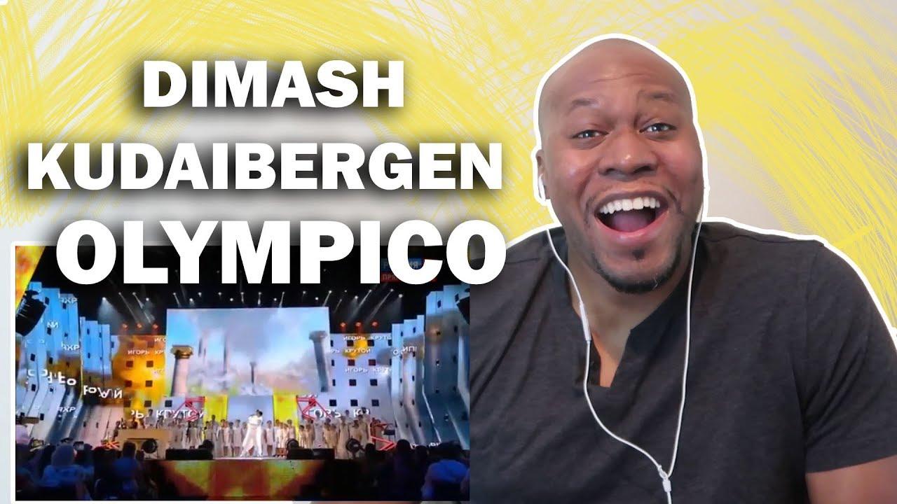 Shocking Reaction To Dimash Kudaibergen- Olympico