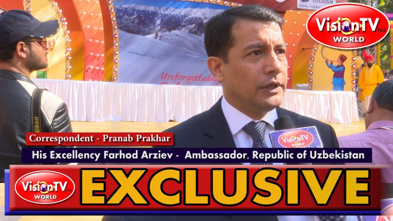 An interview with H. E. Farhod Arziev - Ambassador of Uzbekistan, on Surajkund Mela participation.