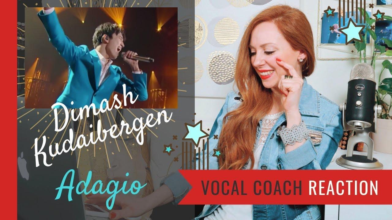 Dimash Kudaibergen Adagio Reaction - Vocal Coach Reaction