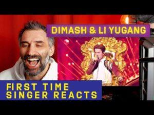 singer reacts to Dimash & Li Yugang《 Drunken Concubine + Diva Dance 》first time reaction