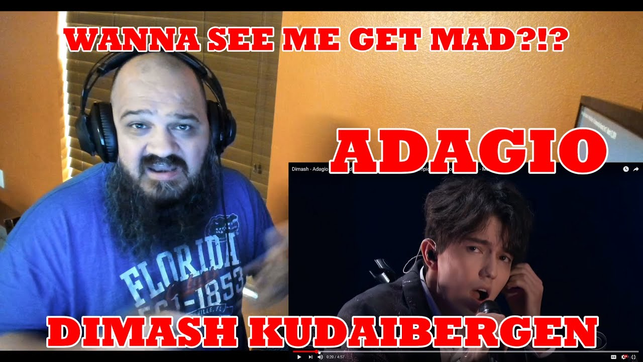 Dimash - Adagio | HUMBLE REACTION