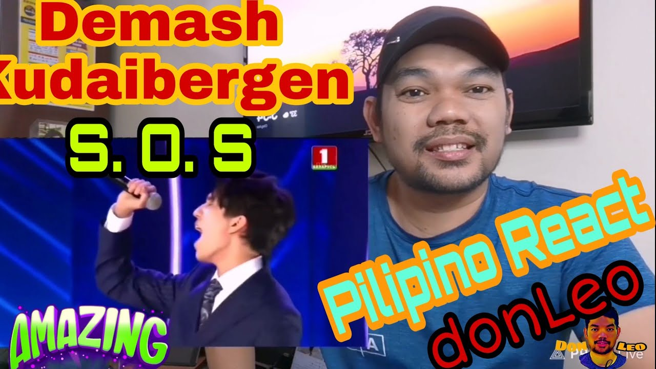 Dimash Kudaibergen-  SOS  Reaction ll donLeo