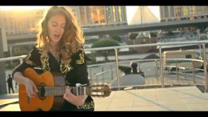 """""""Көзімнің қарасы"""" - Полина Тырина. Kazakh folk song by Polina Tyrina"""