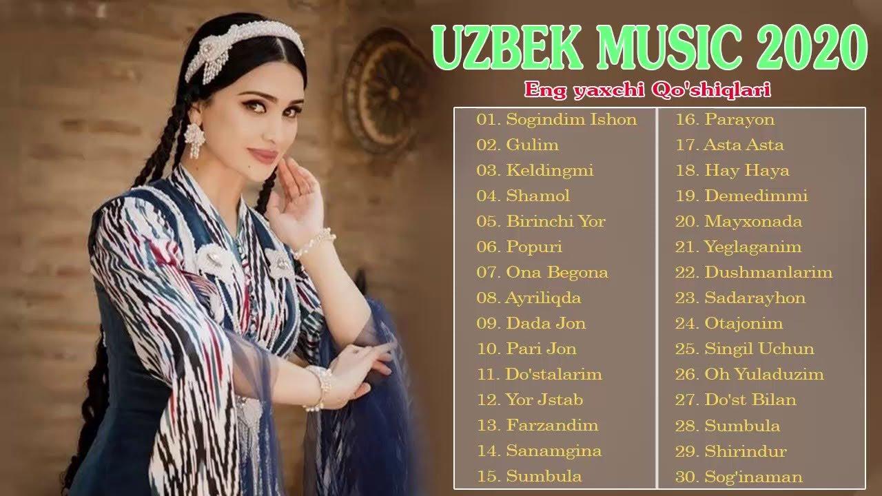 TOP 100 UZBEK MUSIC 2020 || Узбекская музыка 2020 - узбекские песни 2020#