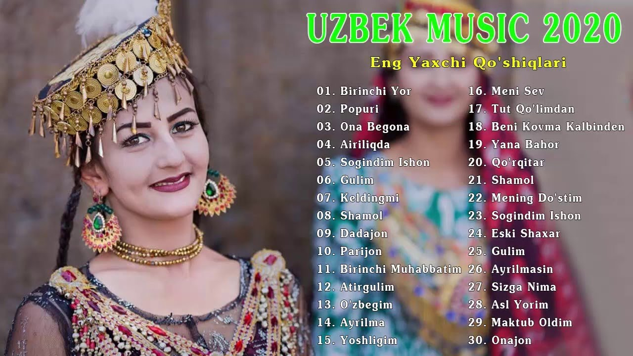 TOP 100 UZBEK MUSIC 2020 || Узбекская музыка 2020 - узбекские песни 2020