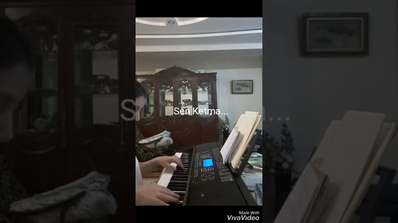 SEN KETMA-SHOXRUHON| PIANO VERSION| UZBEK SONG