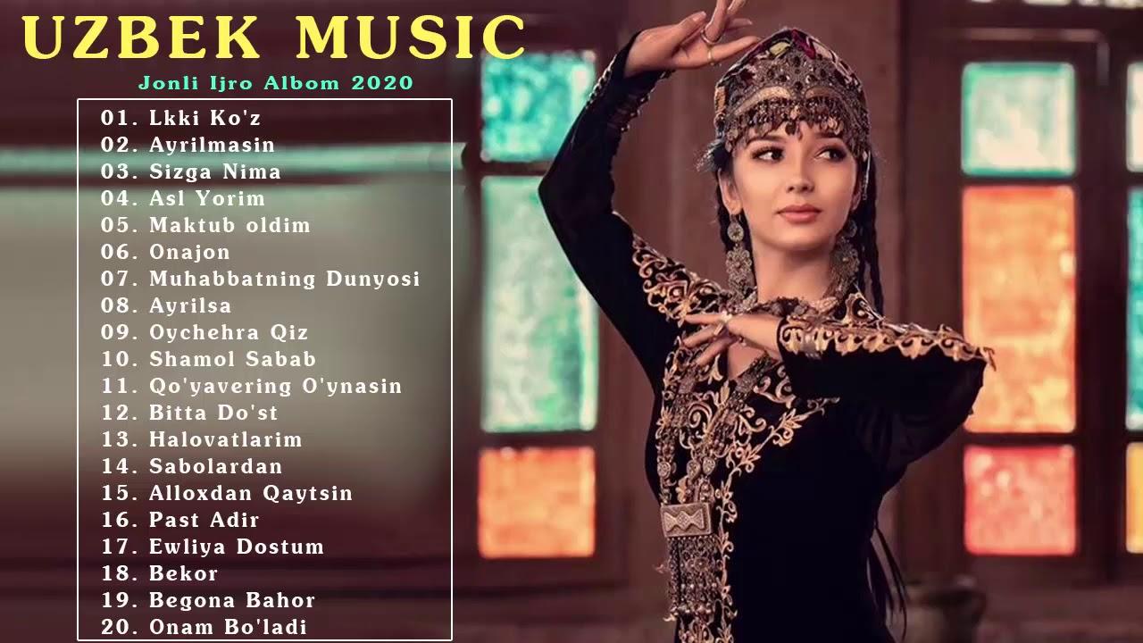 Uzbek Music 2020 - Top 100 Eng Sara Qo'Shiqlar Uzbek Music - Узбекская музыка 2020