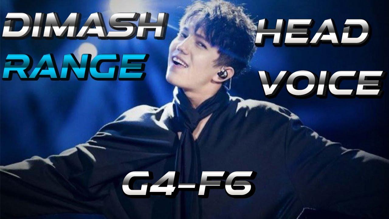 Dimash Range - Head voice and Flageolet G4-F6