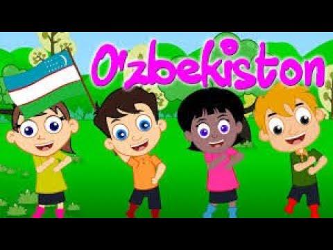 O'zbekiston ¦ Uzbek Kids Song ¦ Узбекские детские песни ⁄ Болалар учун кушиклар