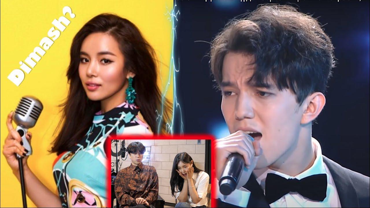 ENG) Реакция корейской певицы впервые увидевшая Dimash Kudaibergen, Димаш Кудайбергенов