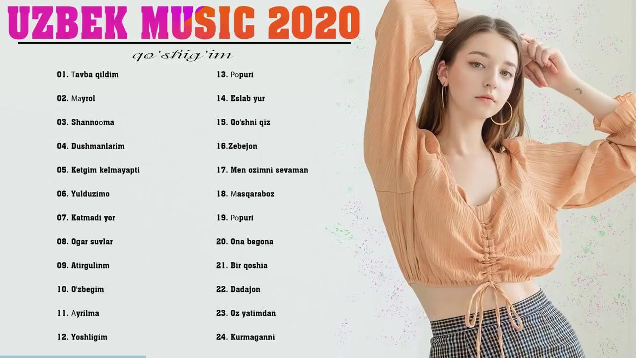 Top 20 Uzbek Music 2020 -  узбекские песни 2020 -  Узбекская музыка 2020