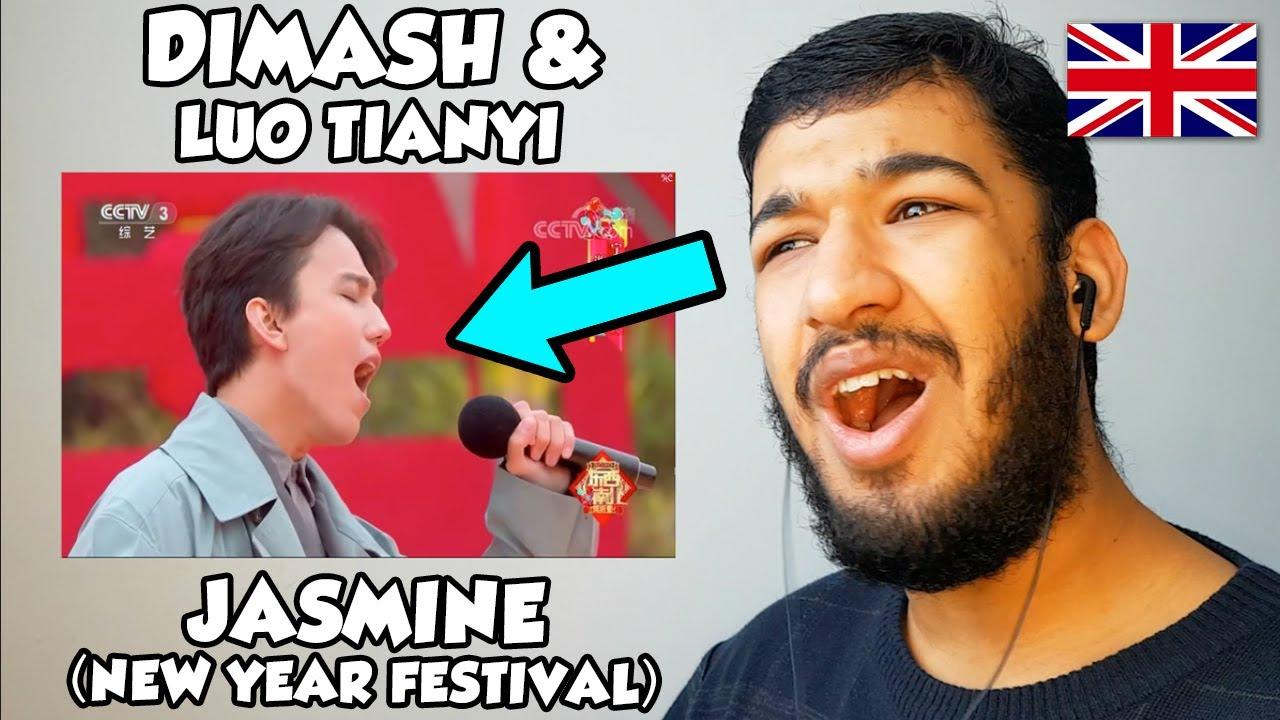 🇬🇧 BRITISH Reacts To Dimash & Luo Tianyi - Jasmine REACTION