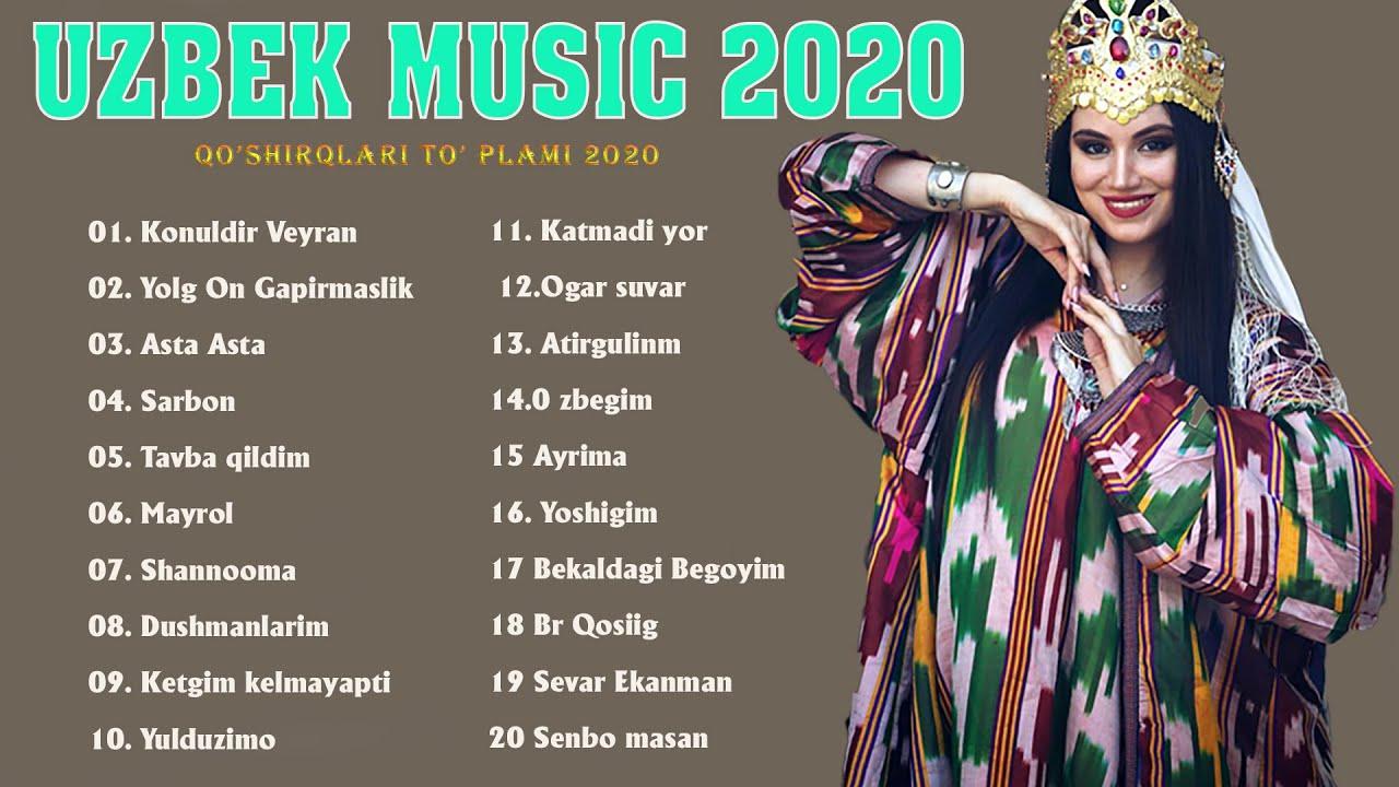 QO'SHIRQLARI UZBEK 2020 - Top 50 Bu Hafta O'zbekcha Issiq Qo'shiqlar 2020